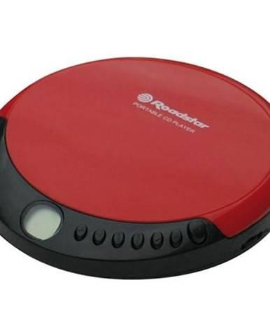 Discman Roadstar PCD-435CD čierny/červen