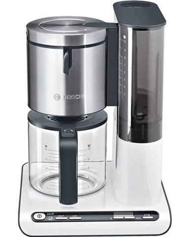 Kávovar Bosch Styline TKA8631 biely/nerez