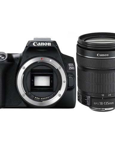 Digitálny fotoaparát Canon EOS 250D + 18-135 IS STM čierny