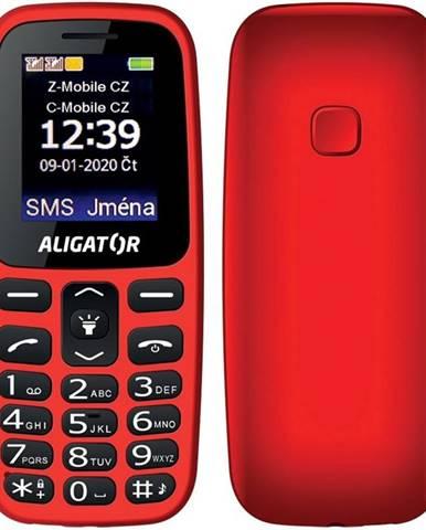 Mobilný telefón Aligator A220 Senior Dual SIM červený
