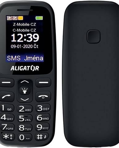 Mobilný telefón Aligator A220 Senior Dual SIM čierny