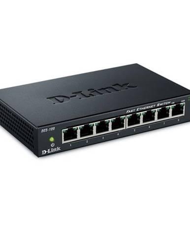 Switch D-Link DES-108  8 port, 10/100 Mb/s