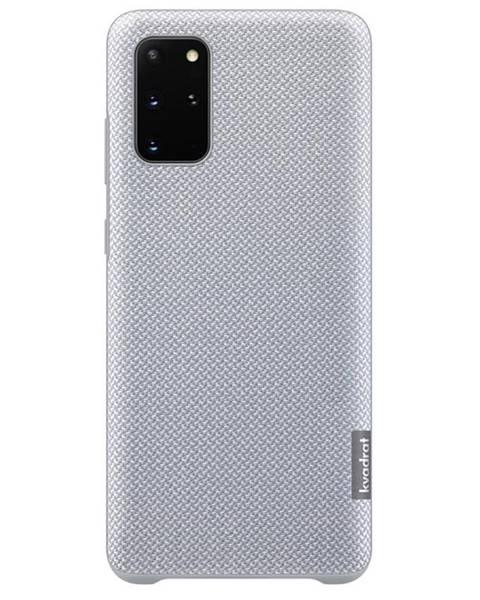 Samsung Kryt na mobil Samsung Kvadrat na Galaxy S20+ sivý