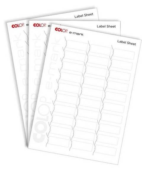COLOP Papierový štítok Colop e-mark® 48 x 18 mm, 10 x A4