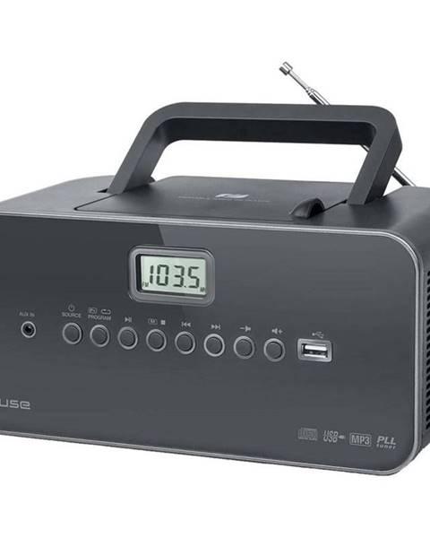 MUSE Rádioprijímač s CD MM-28DG siv