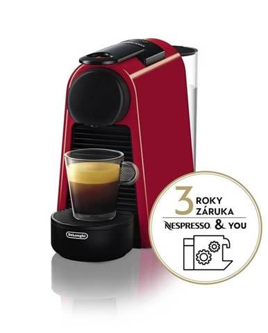 Espresso DeLonghi Nespresso Essenza Mini EN85.R červen