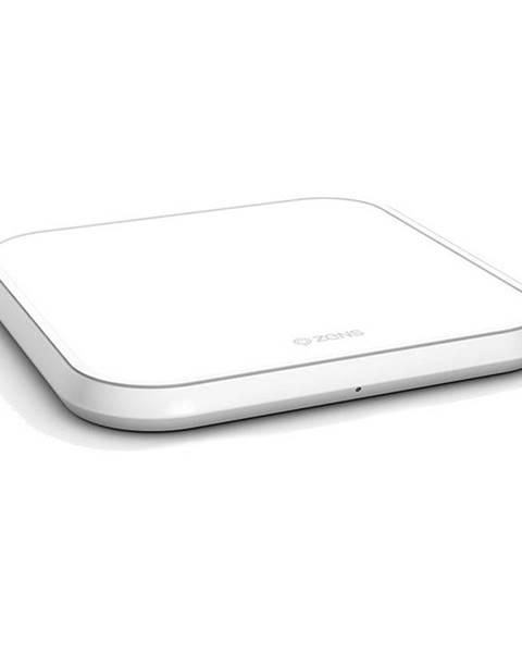 ZENS Bezdrôtová nabíjačka Zens Aluminium Single 10W biela
