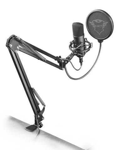 Mikrofón Trust GXT 252+ Emita Plus čierny