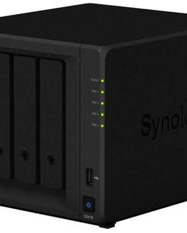 Sieťové úložište Synology DS418 čierne