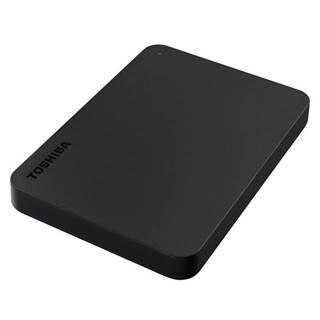 Externý pevný disk Toshiba Canvio Basic 2TB čierny