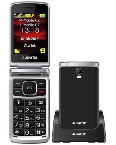 Mobilný telefón Aligator V710 Senior Dual SIM čierny