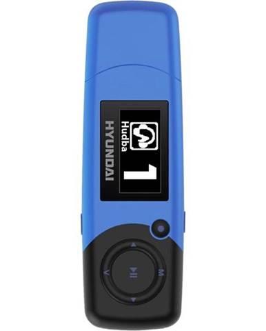 MP3 prehrávač Hyundai MP 366 GB4 FM BL modr