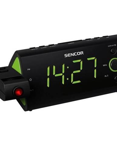 Rádiobudík Sencor SRC 330 GN čierny/zelen