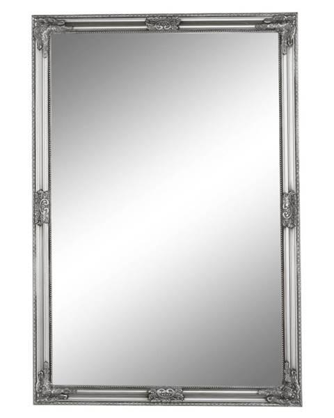 Tempo Kondela Zrkadlo strieborný drevený rám MALKIA TYP 11