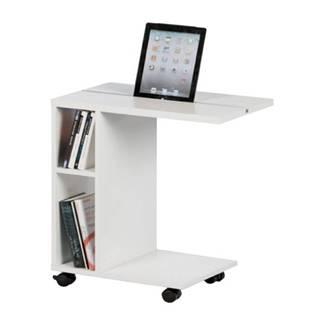 Príručný stolík biela NIDEN