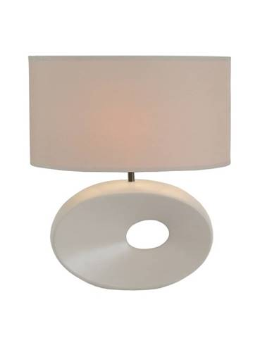 Keramická stolná lampa biela QENNY TYP 9 AT09115