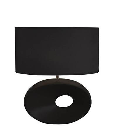 Keramická stolná lampa čierna QENNY TYP 10 AT09115