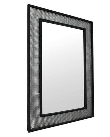 Zrkadlo strieborná/čierna ELISON TYP 9