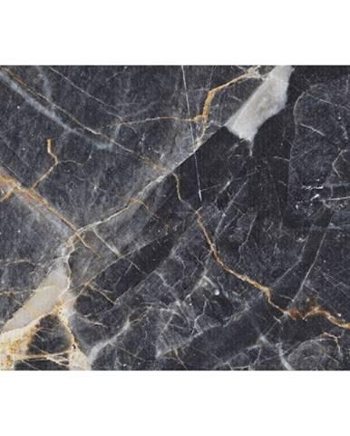 Koberec vzor čierny mramor 80x200 RENOX TYP 1