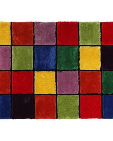 Koberec červená/zelená/žltá/fialová 170x240 LUDVIG TYP 4