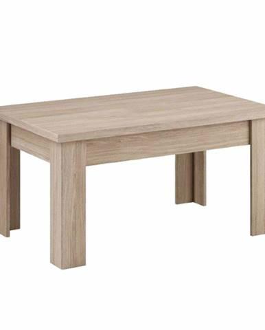 Konferenčný stolík dub grandson svetlý LETYA