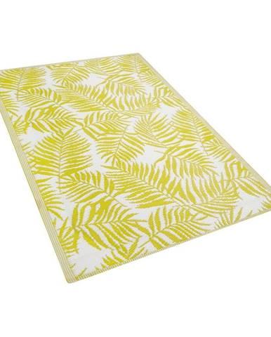 Žltý vonkajší koberec Monobeli Casma, 120 x 170 cm