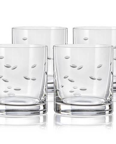 Crystalex CXBR083 4-dielna sada pohárov na whisky, 280 ml