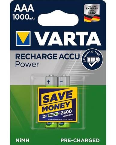Batéria nabíjacie Varta Rechargeable Accu AAA, HR06, 1000mAh, Ni-MH