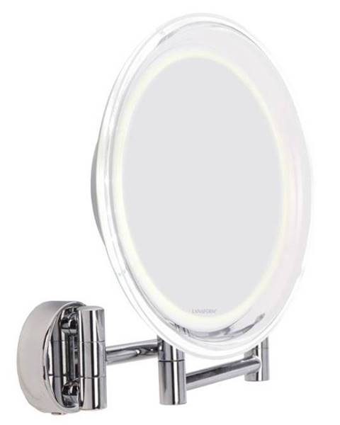 Lanaform Zrkadlo kozmetické Lanaform LA131007 Wall Mirror strieborn