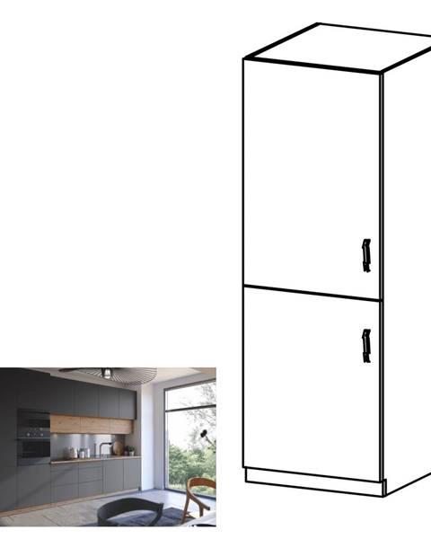Tempo Kondela Potravinová skrinka dub artisan/sivý mat ľavá LANGEN D60R