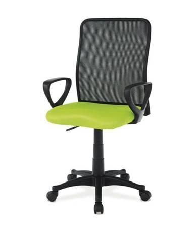 Kancelárska stolička FRESH zelená/čierna