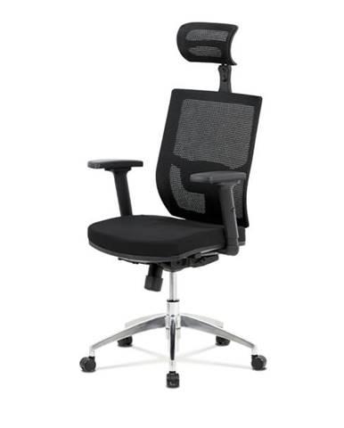 Kancelárska stolička STUART čierna