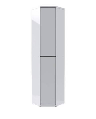 Rohová skriňa FLAP 2068 biela