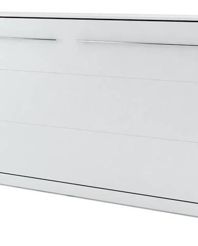 Výklopná posteľ CONCEPT PRO CP-04 biela matná, 140x200 cm