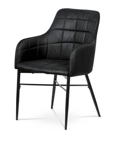 Jedálenská stolička DAMIRA čierna