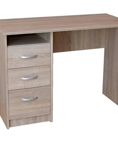 Písací stôl DOMINIK dub sonoma