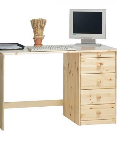 Písací stôl KENT borovica