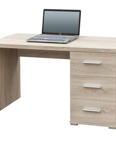 Písací stôl PEN dub sonoma
