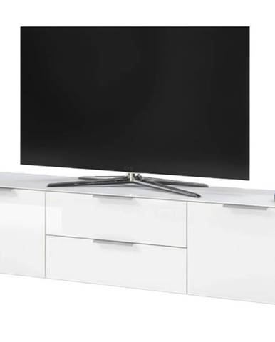 TV stolík MARSEILLE 5 biela