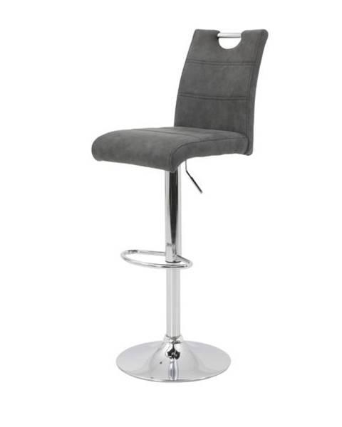 Sconto Barová stolička MIRANDA H antracitová