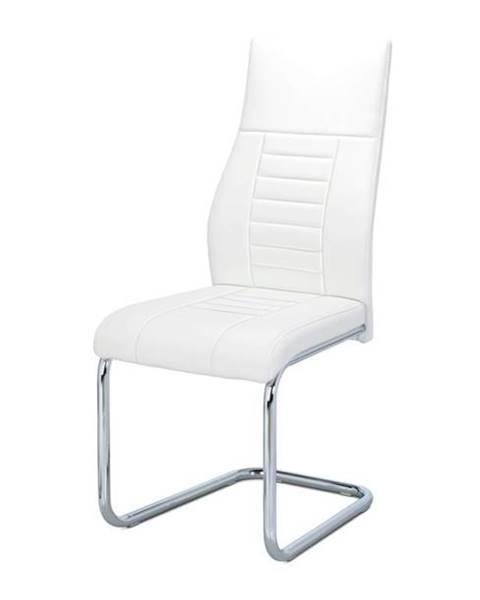 Sconto Jedálenská stolička ADRIENA biela