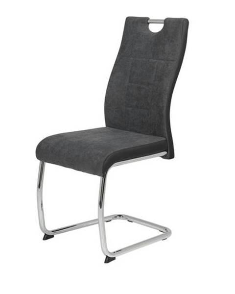 Sconto Jedálenská stolička ALINA S antracitová