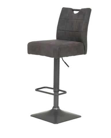 Barová stolička DENISE H vintage antracit