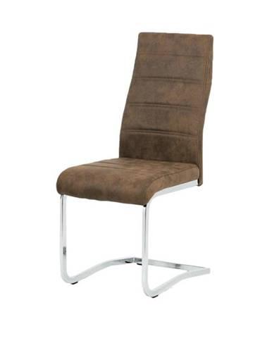 Jedálenská stolička CAROL hnedá