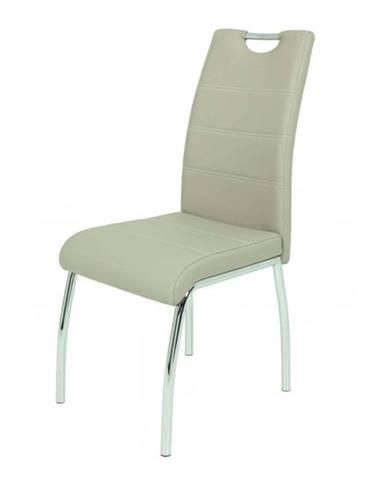 Jedálenská stolička SUSI S krémová