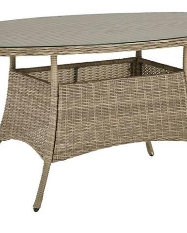 Záhradný stôl FLORENZ2 oválny, šírka stola 161 cm