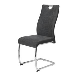 Jedálenská stolička ALINA S antracitová