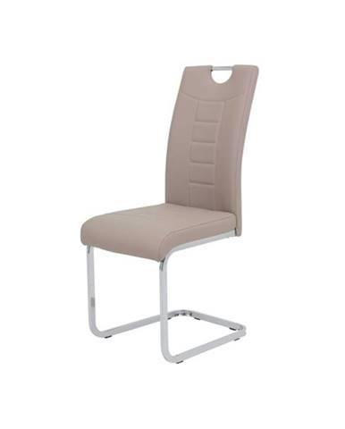 Jedálenská stolička RUBY S cappuccino
