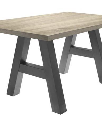 Jedálenský stôl BIG SYSTEM dub sägerau/grafit