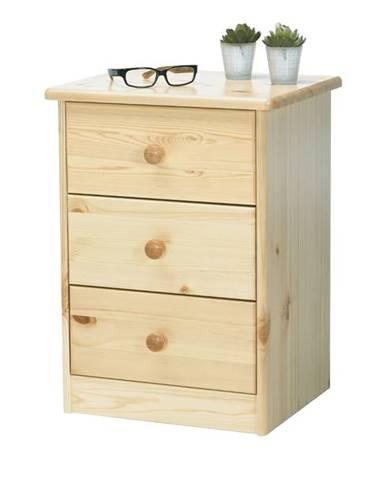 Komoda/nočný stolík ROLAND borovica